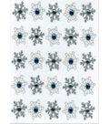 EK Success Dimensional Stickers-Snowflake Repeats