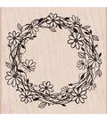 Flower Wreath Stamp