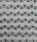 Basan Fashion Apparel Fabric-Wavy Knit Fabric Natural