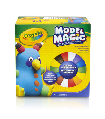 Crayola Model Magic .5oz 14/Pkg-Assorted Colors