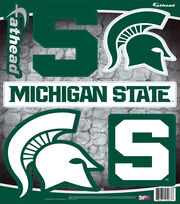 Michigan State University Spartans Fat Head Wall Decal-Assorted Logos, , hi-res