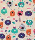 Doodles® Cotton Fabric 57\u0022-Scream Queens