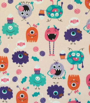 """Doodles® Cotton Fabric 57""""-Scream Queens"""