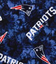 """New England Patriots Fleece Fabric 58""""-Tie Dye, , hi-res"""