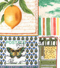 Snuggle Flannel Fabric 42\u0027\u0027-Vintage Lemon Patch