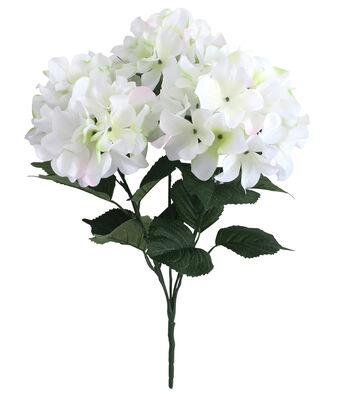 Fresh Picked Spring Hydrangea Bush-White & Green