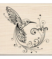 Inkadinkado Rubber Stamp-Hummingbird, , hi-res