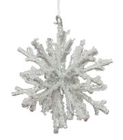 Maker's Holiday Christmas Arctic Frost 3D Snowflake Ornament, , hi-res