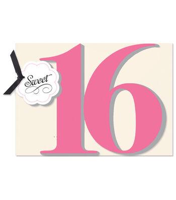 Anna Griffin Sweet Sixteen Diecut Custom Invitation
