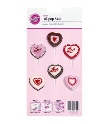 Lollipop Mold-Hearts
