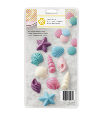 Wilton® Candy Mold-Seashells