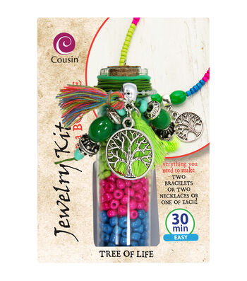 Jewelry Kit In A Bottle-Tree Of Life