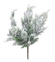 Blooming Holiday Christmas 17'' Pine Spray with Snow, , hi-res