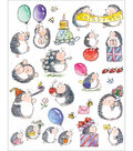 Penny Black Sticker Sheet 7\u0022X9\u0022-Bouncing With Joy