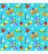 Tutti Fruitti Fabric- Happy Garden Dragonfly Turq