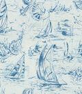P/K Lifestyles Upholstery Fabric 54\u0022-Smooth Sailing