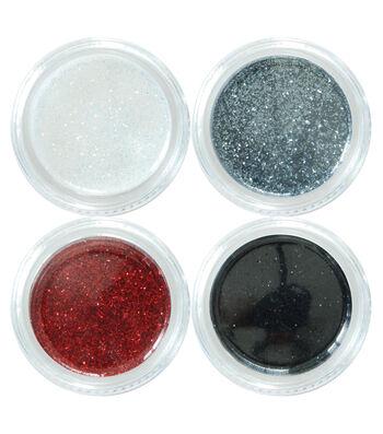 Maker's Halloween 4 Count Metallic Glitter Makeup Set-Vampire