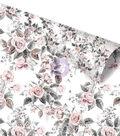 Rose Gold Foiled Double-Sided Cardstock 12\u0022X12\u0022-Rose Dreams