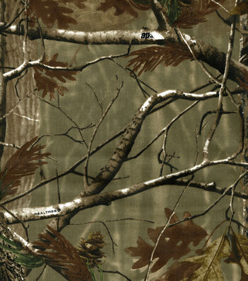 Realtree Duck Cloth Fabric 60''-Camouflage