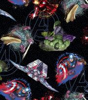 Marvel Comics Avengers Cotton Fabric 43''-Tossed, , hi-res