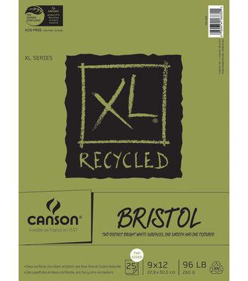 "Canson Bristol Paper Pad ""9x12"""