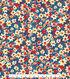 Kathy Davis Apparel Rayon Fabric 53\u0022-Small Scale Multi Colored Floral