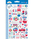 Yankee Doodle Stickers-Mini Icons