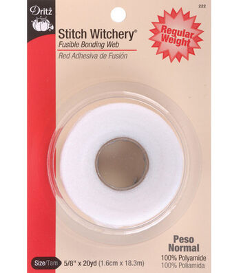 "Dritz Stitch Witchery Regular Tape-5/8"" x 20yd"
