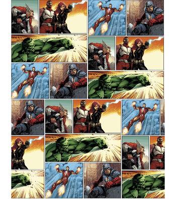 Marvel Comics™ Avengers Cotton Fabric 43''-Panel Art
