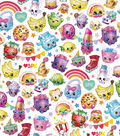 Shopkins Cotton Fabric 43\u0022-Packed Rainbow Celebrations