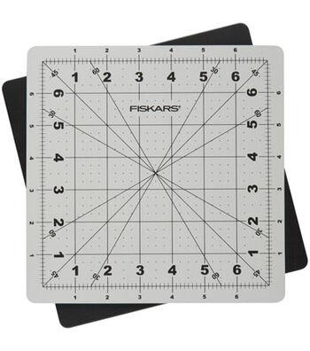 "Fiskars Self Healing Rotating Cutting Mat-8""x8"""