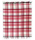 Maker\u0027s Holiday Throw Blanket-Plaid