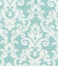 Waverly Upholstery Fabric 57\u0022-Kenwood Damask/Opal