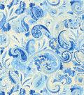 Iman Upholstery Fabric-Sarong Swirl/Porcelain