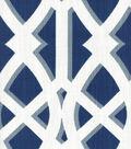 Upholstery Fabric 54\u0022-Pinetto Navy