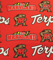 "University of Maryland Terrapins Canvas Fabric 58""-Logo, , hi-res"