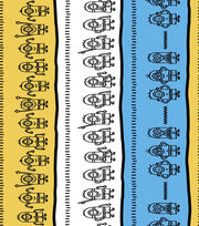 "Minion Cotton Fabric 44""-Linework, , hi-res"