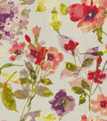 HGTV Home Upholstery Fabric 54\u0022-Color Study Berry