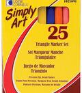 Triangular Mrkr Set 25 Pc