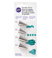Wilton® 4pc Specialty Decorating Tip Set, , hi-res
