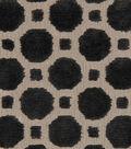 Robert Allen @ Home Upholstery Fabric 54\u0022-Velvet Geo Black