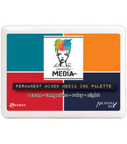 Dina Wakley Media-Mixed Media Palette, , hi-res
