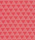 Cloud 9 Organic Cotton Double Gauze Fabric 44\u0022-Triangles Pink