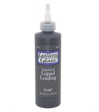 Gallery Glass Liquid Lead Black 8 oz
