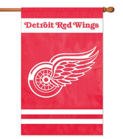 Detroit Red Wings Applique Banner Flag, , hi-res
