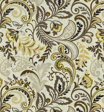 "SMC Swavelle Millcreek Waverly Fabric 54""- Findlay Cliffside Charcoal"
