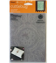 Cricut Cuttlebug Anna Griffin Ornate Medallion 5x7 Embossing Folder, , hi-res