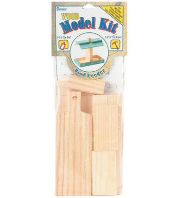 Darice Wood Model Kit-Birdfeeder