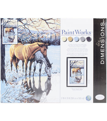 Dimensions Paint Works Paint By Number Kit-Reflections