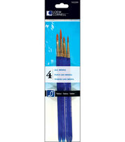 Taklon Craft Brush Set-4/Pk, , hi-res
